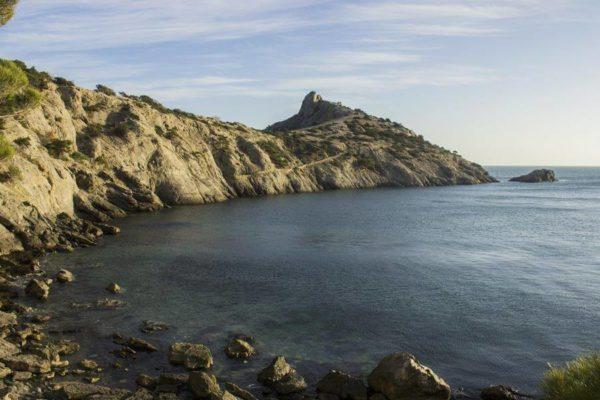 Голубая бухта и Царский пляж