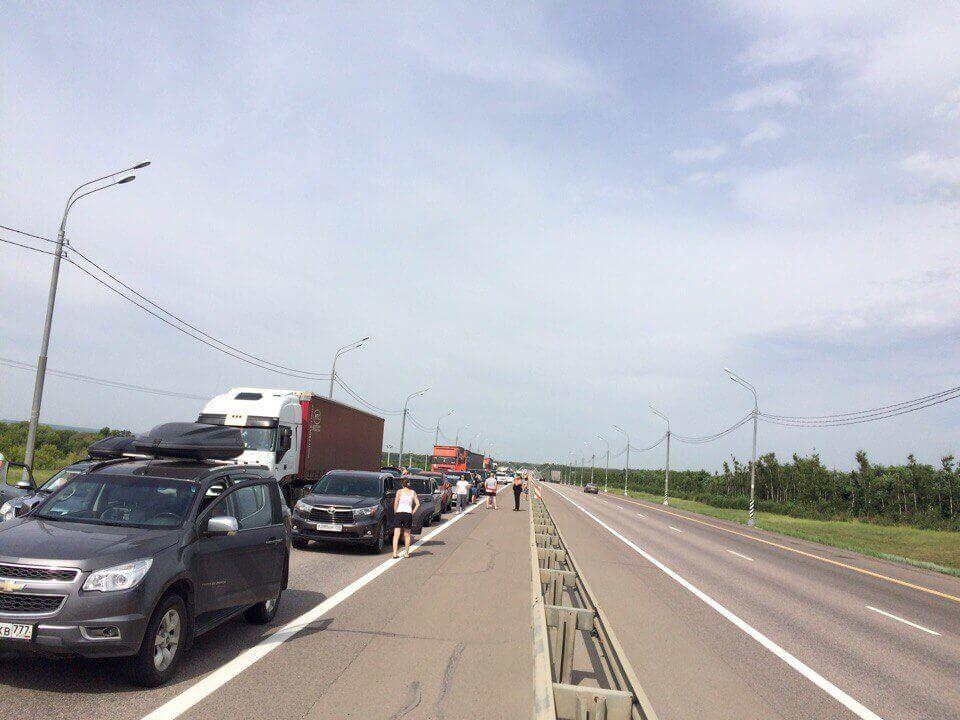 Сколько до Крыма на машине из Москвы
