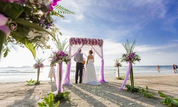 свадьба на острове Самуи в Таиланде