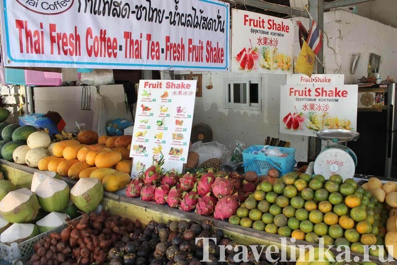 Цены в Паттайе