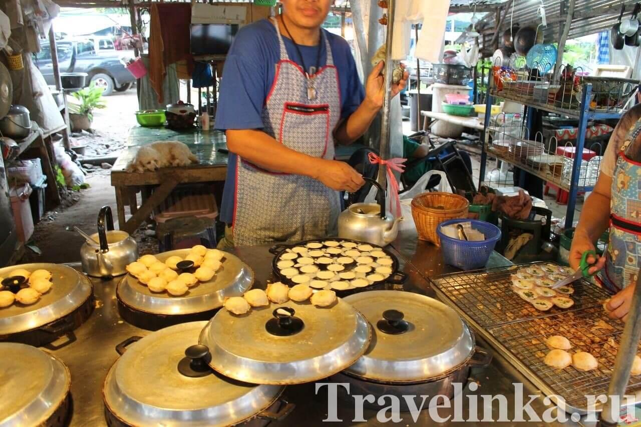 Местная еда на Ко Чанге, цены