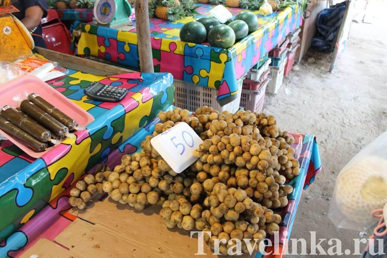 Цены на еду на Ко Чанге: фрукты