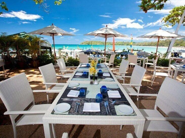 отель на пляже Ката Пхукет