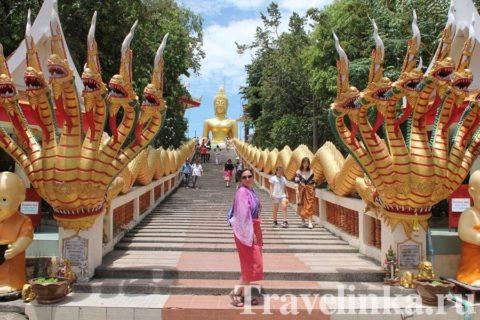 гора золотого Будды Паттайя
