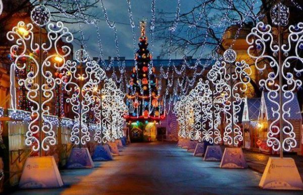 Афиша новогодних мероприятий Санкт-Петербурга