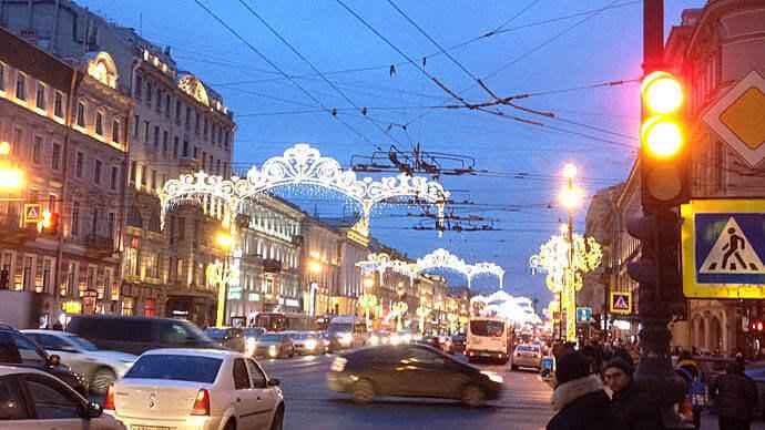 где отметить Новый Год в Санкт-Петербурге