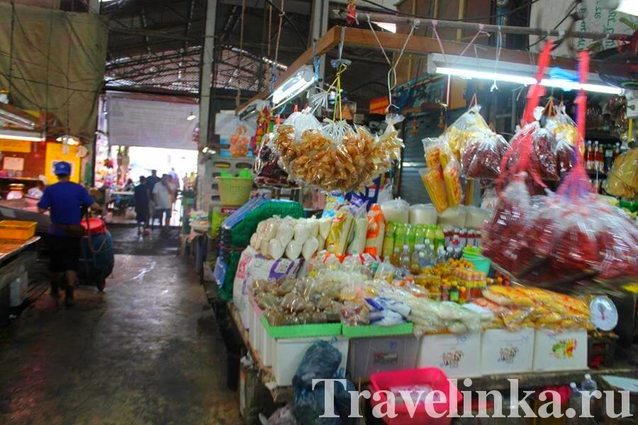 Рынок в Паттайе на Южной улице