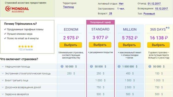 Cтраховка в Таиланд: отзывы