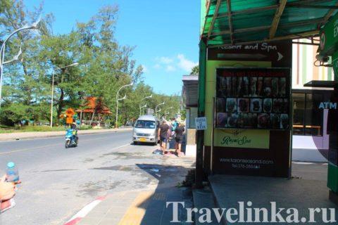 Таиланд Пхукет пляж Карон