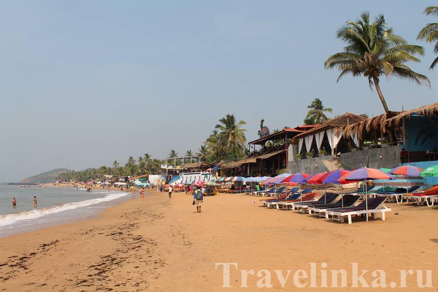 Пляжи Гоа в Индии