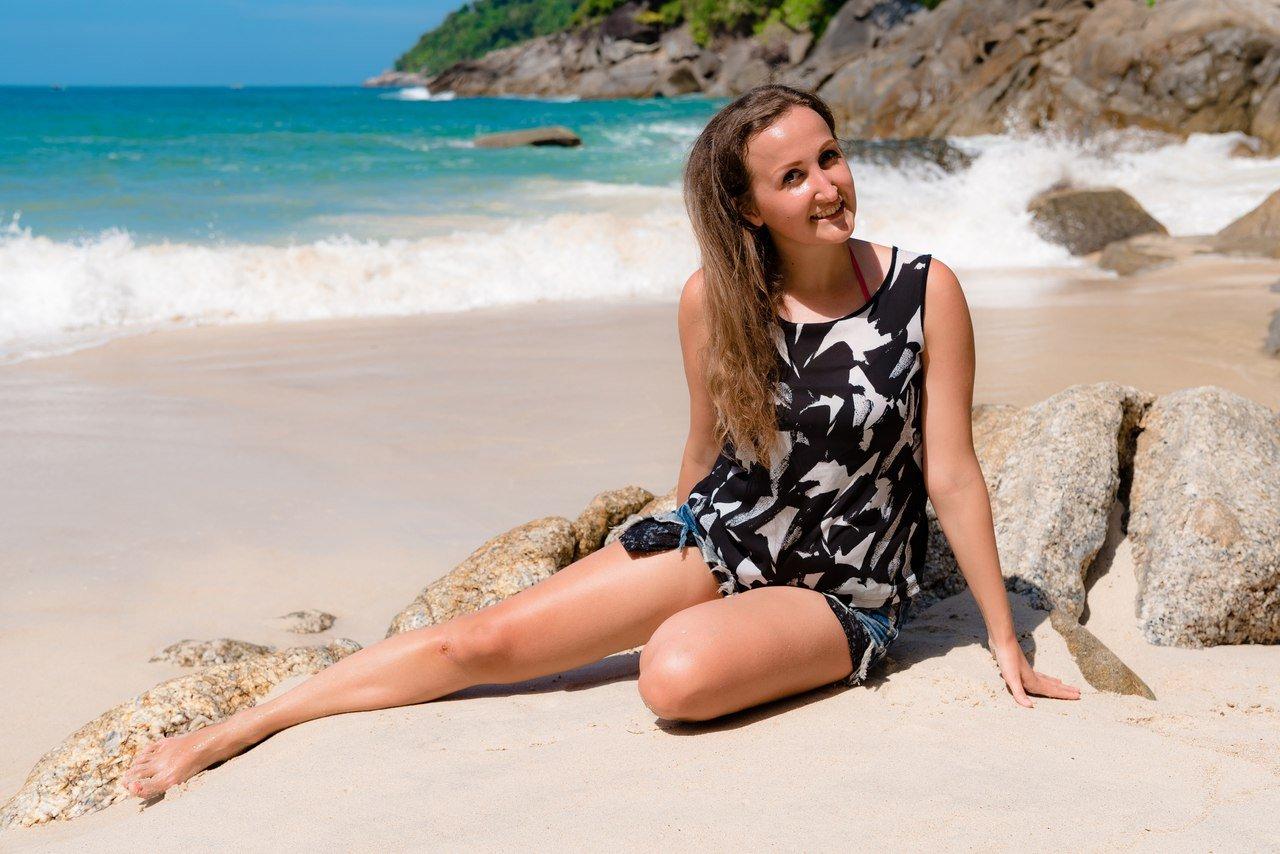 Фотосессия на Пхукете на пляже Freedom