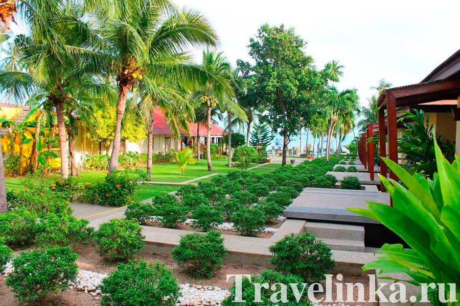 Отель Centra Coconut Beach Resort Samui