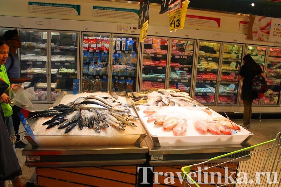 Цены в Бангкоке на продукты