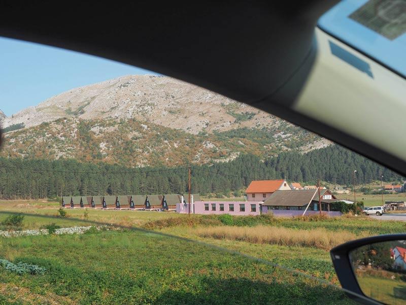 на авто по Черногории