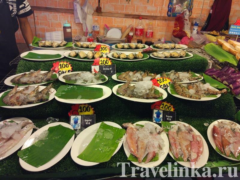рынок на Ката Бич Пхукет