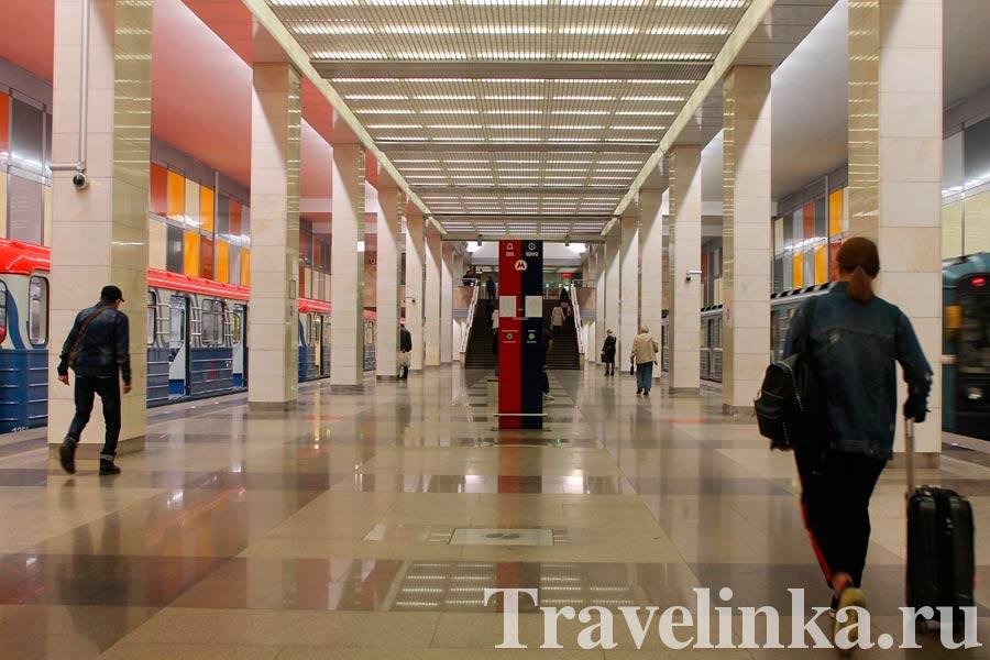 автобус в аэропорт Внуково от метро Саларьево
