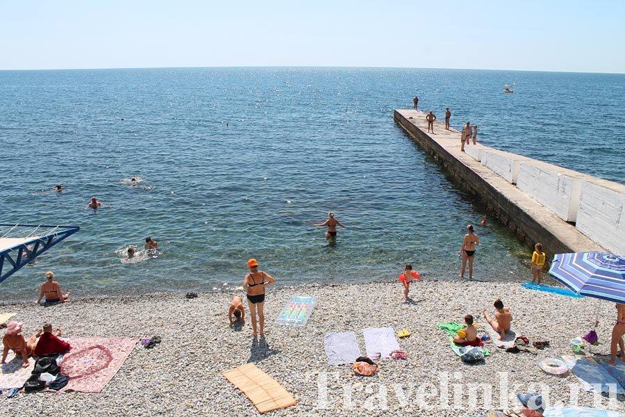 Пляж Алушта