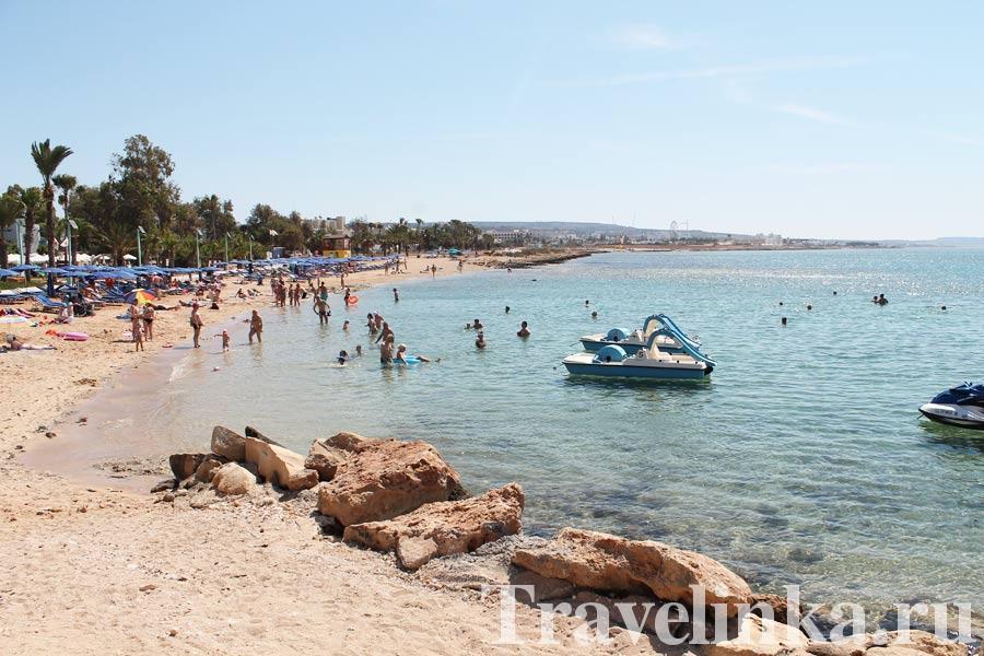 Кипр Айя-Напа фото пляжа