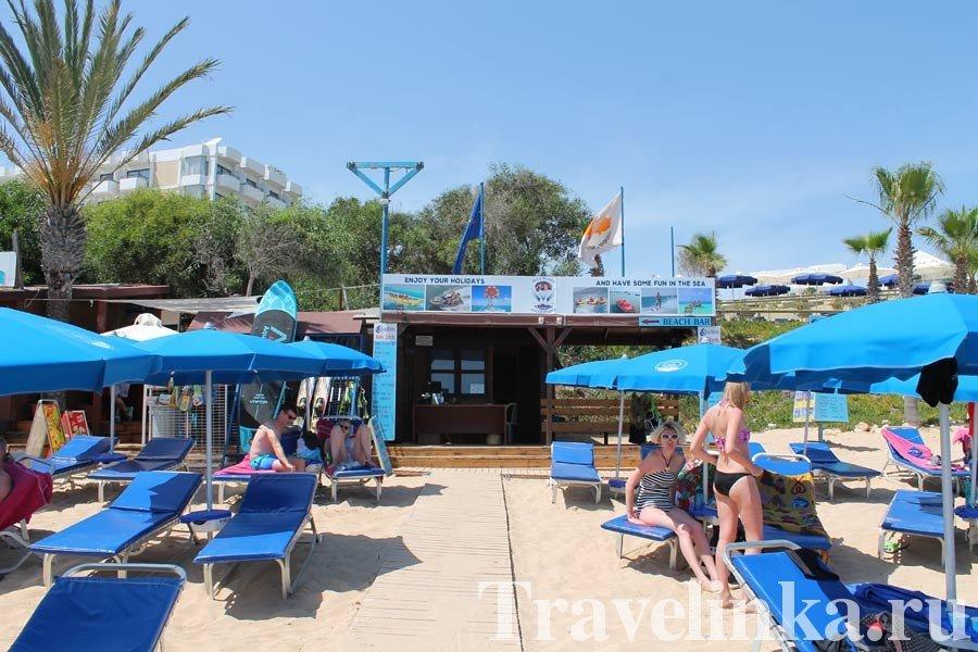 пляж Грециан Кипр