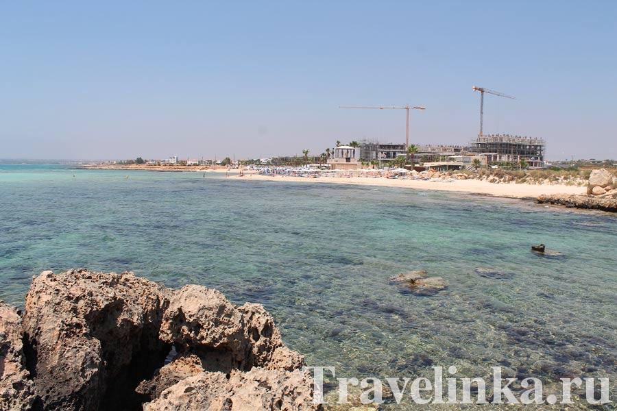 Кипр Айя-Напа пляжи