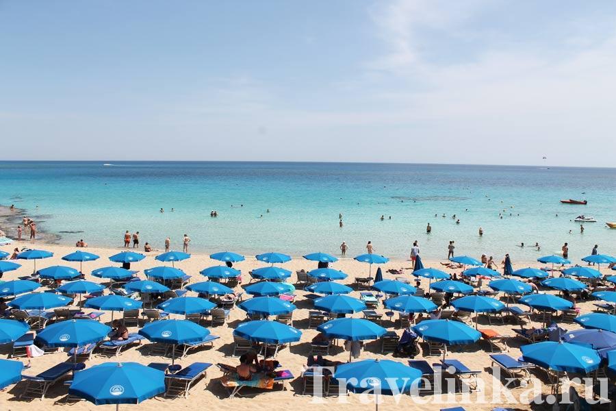 пляжи Айя-Напы фото