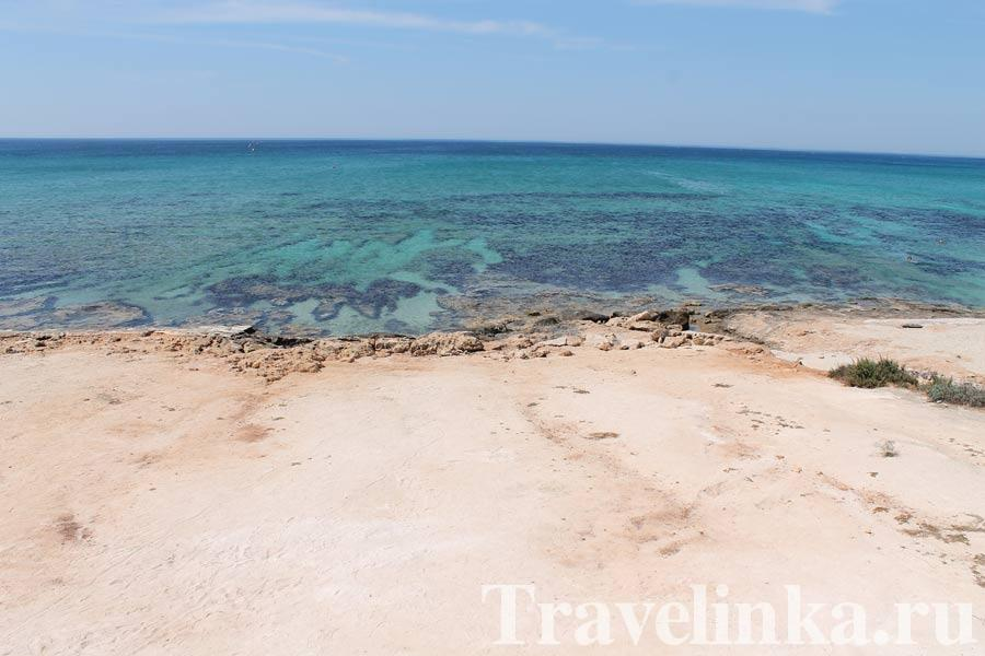 Кипр море Айя-Напа