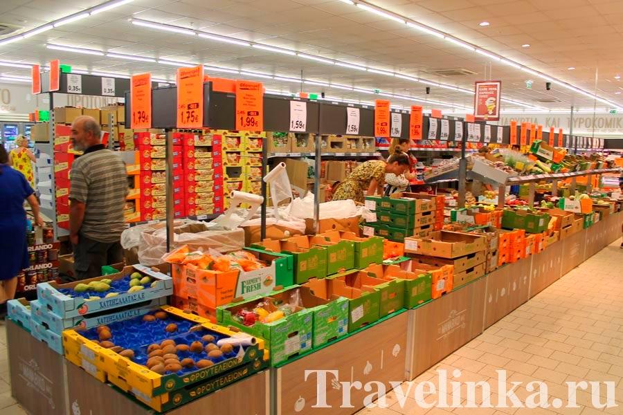 Супермаркеты в Айя-Напе