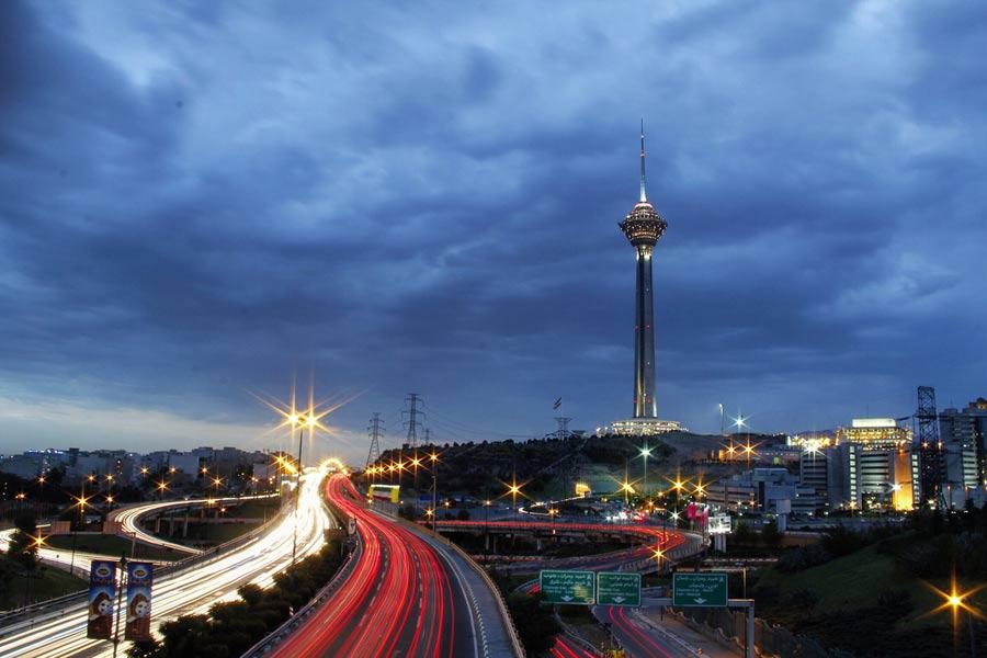 Тегеран Башня Milad Tower