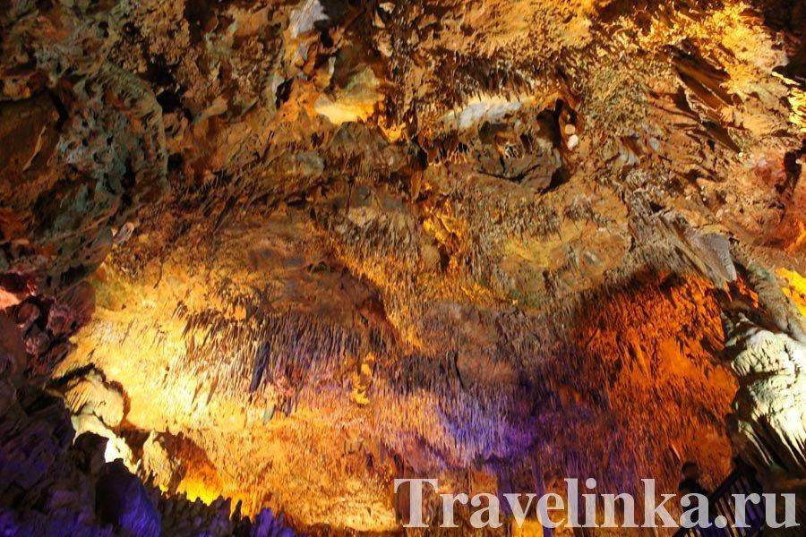 Пещера Дамлаташ: фото