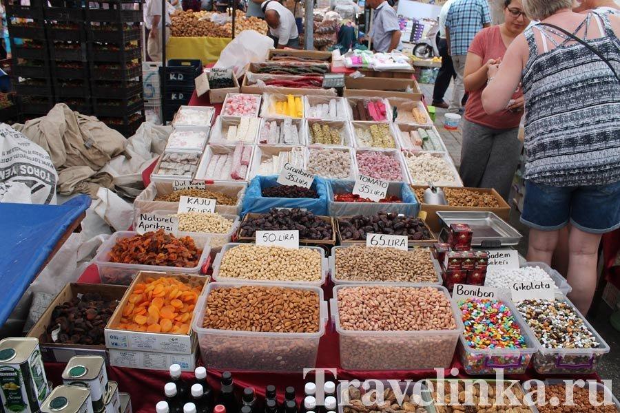 Турция Аланья рынок