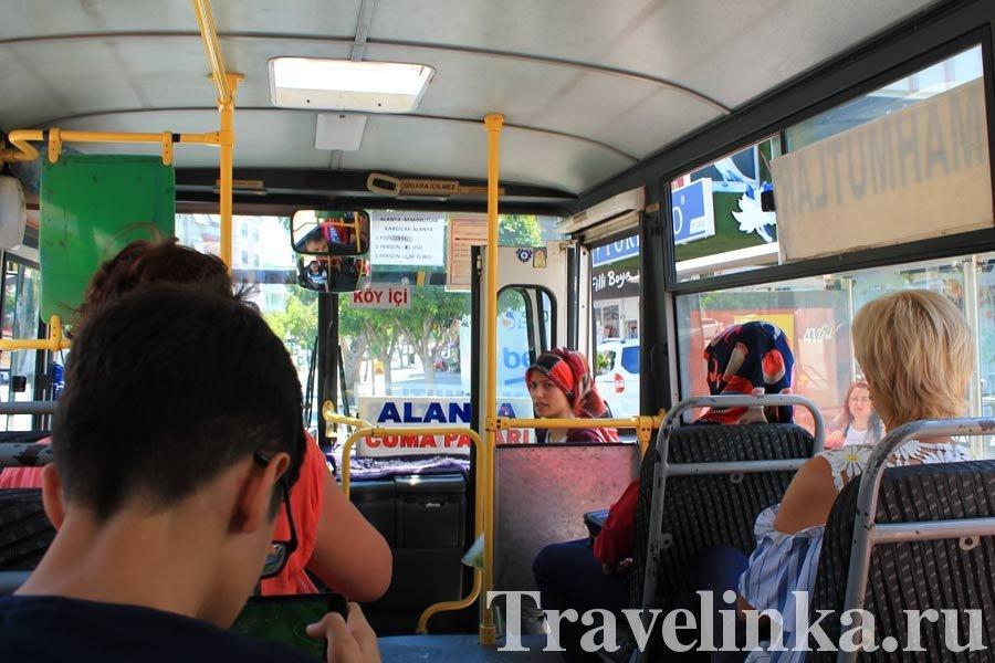 Аланья автобусы