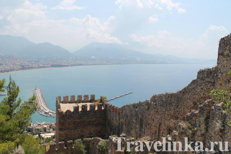 Турция Аланья крепость