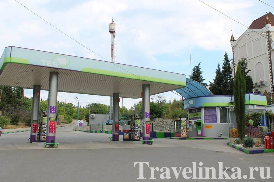 бензин в Крыму