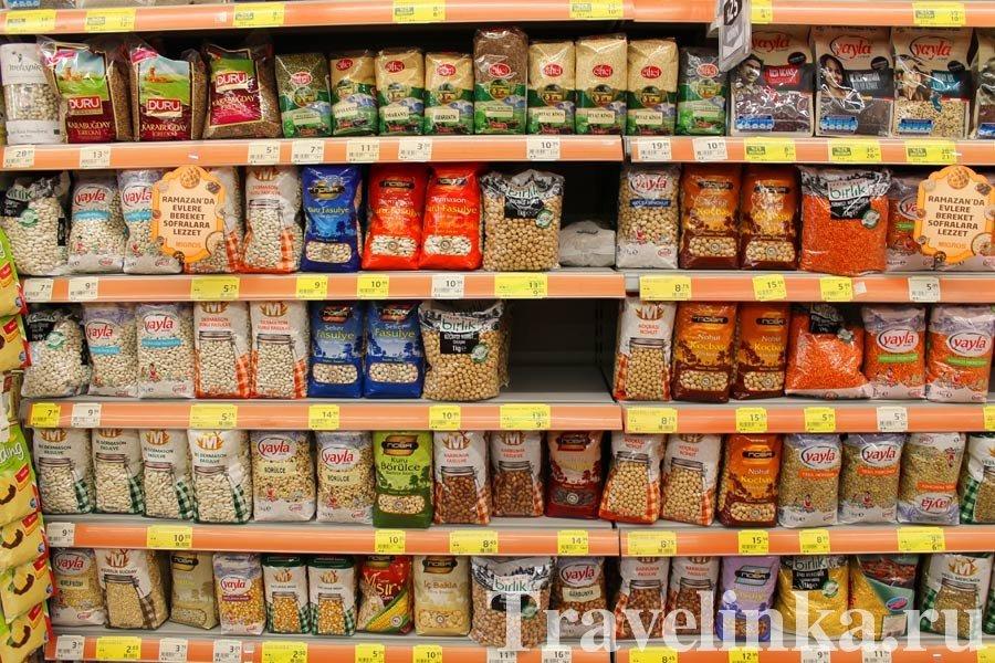Супермаркеты в Аланье