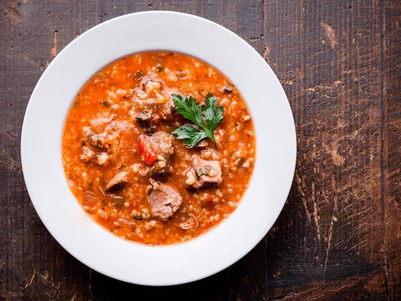 Вкусная грузинская кухня:харчо