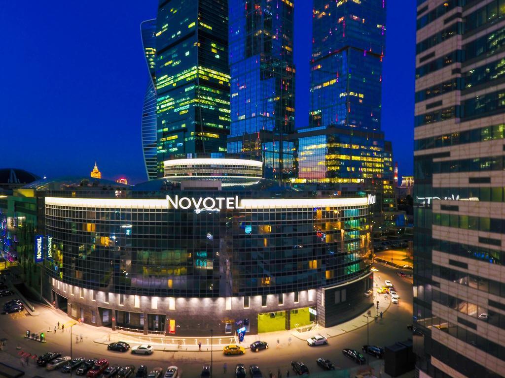 панорамный отель в Москва Сити