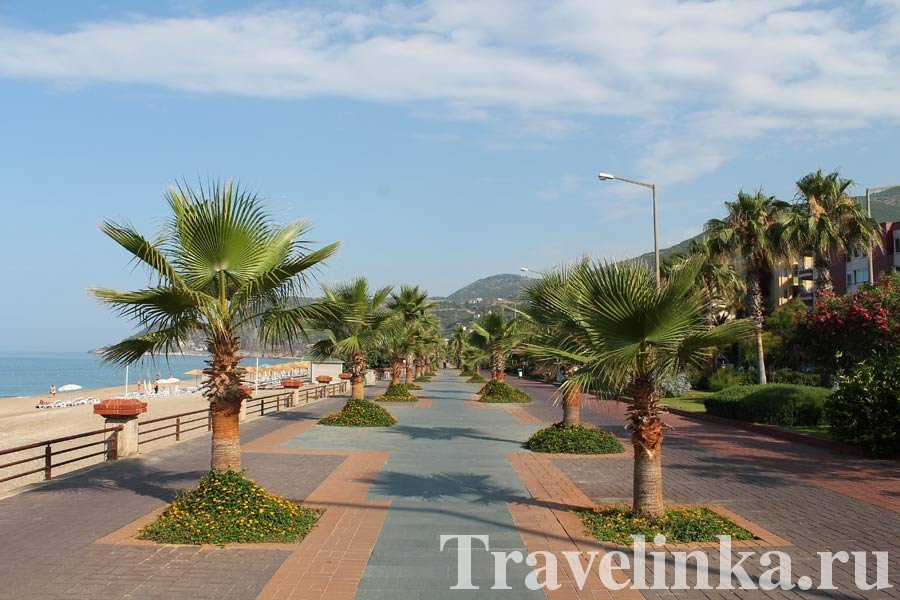 пляж Клеопатра в Алании