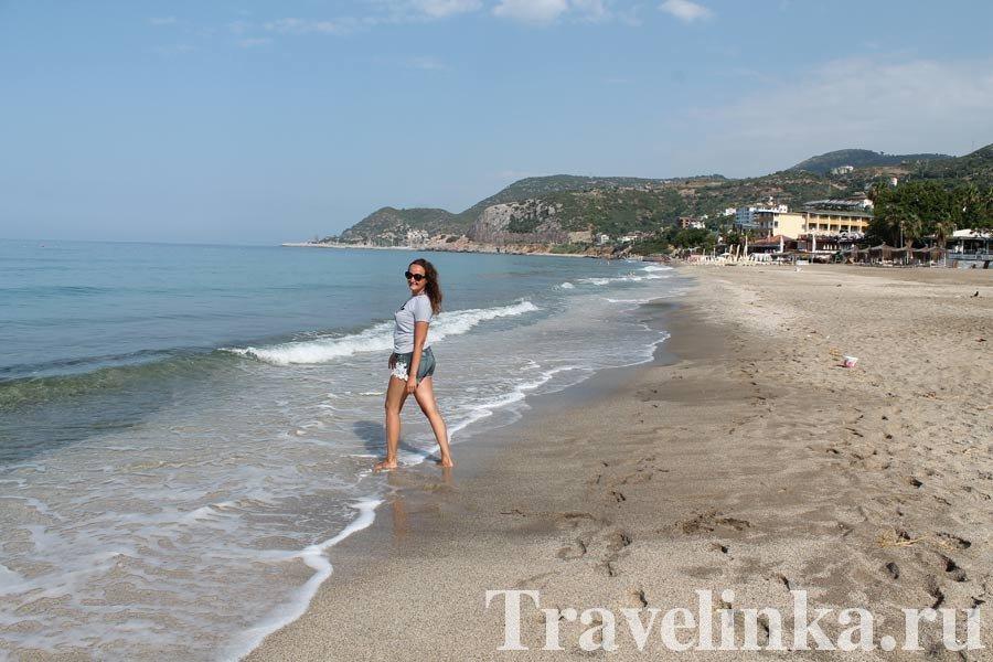пляжи Аланьи фото