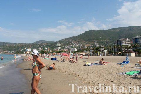 Турция Аланья пляжи
