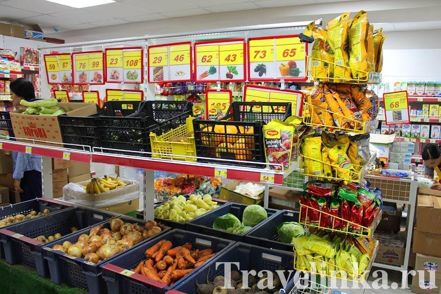Цены в Алуште супермаркет