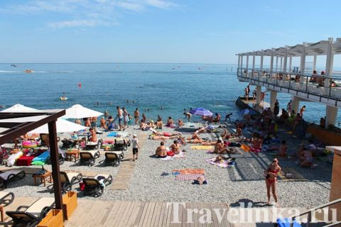 Массандровский пляж