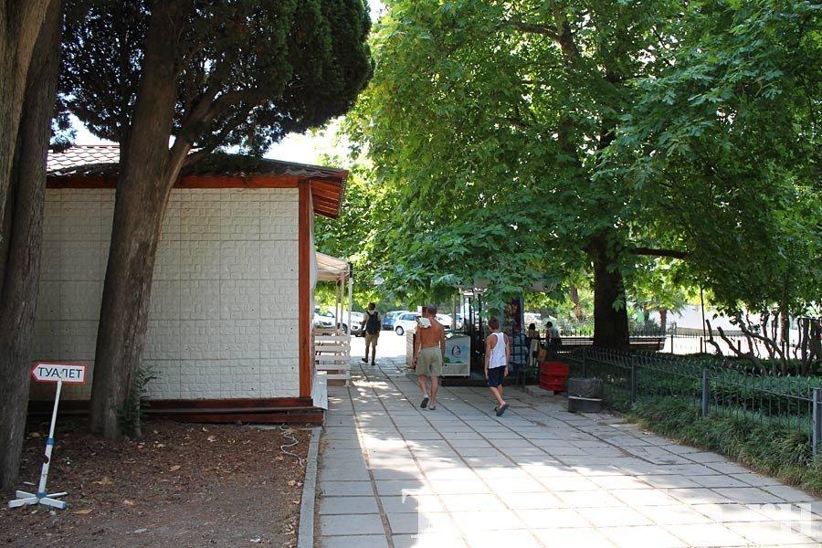 Дорога к Никитскому саду
