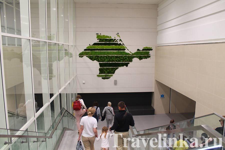 Крым Симферополь новый аэропорт