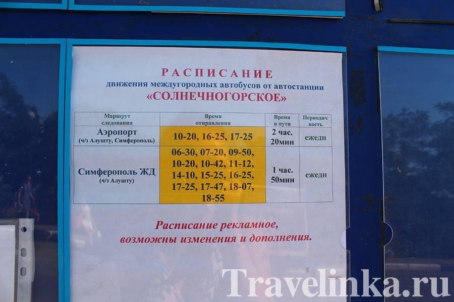 Симферополь Солнечногорское