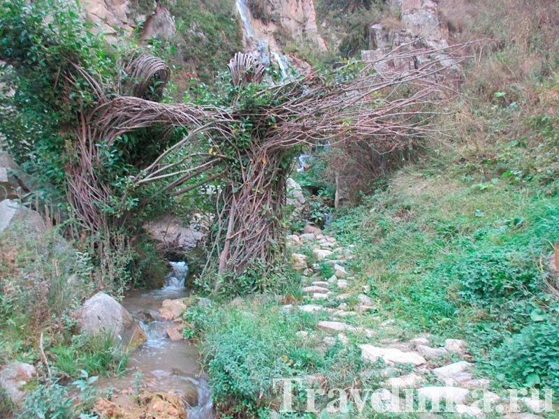 Водопад.Верхняя Дигория
