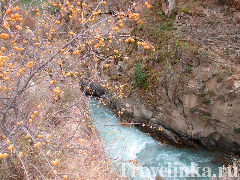 Река Урух. Северная Остетия
