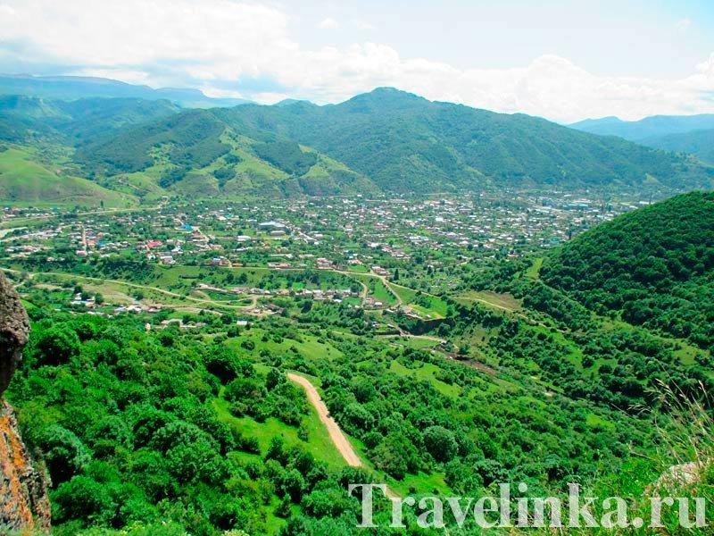 Панорама на село Коста Хетагурова