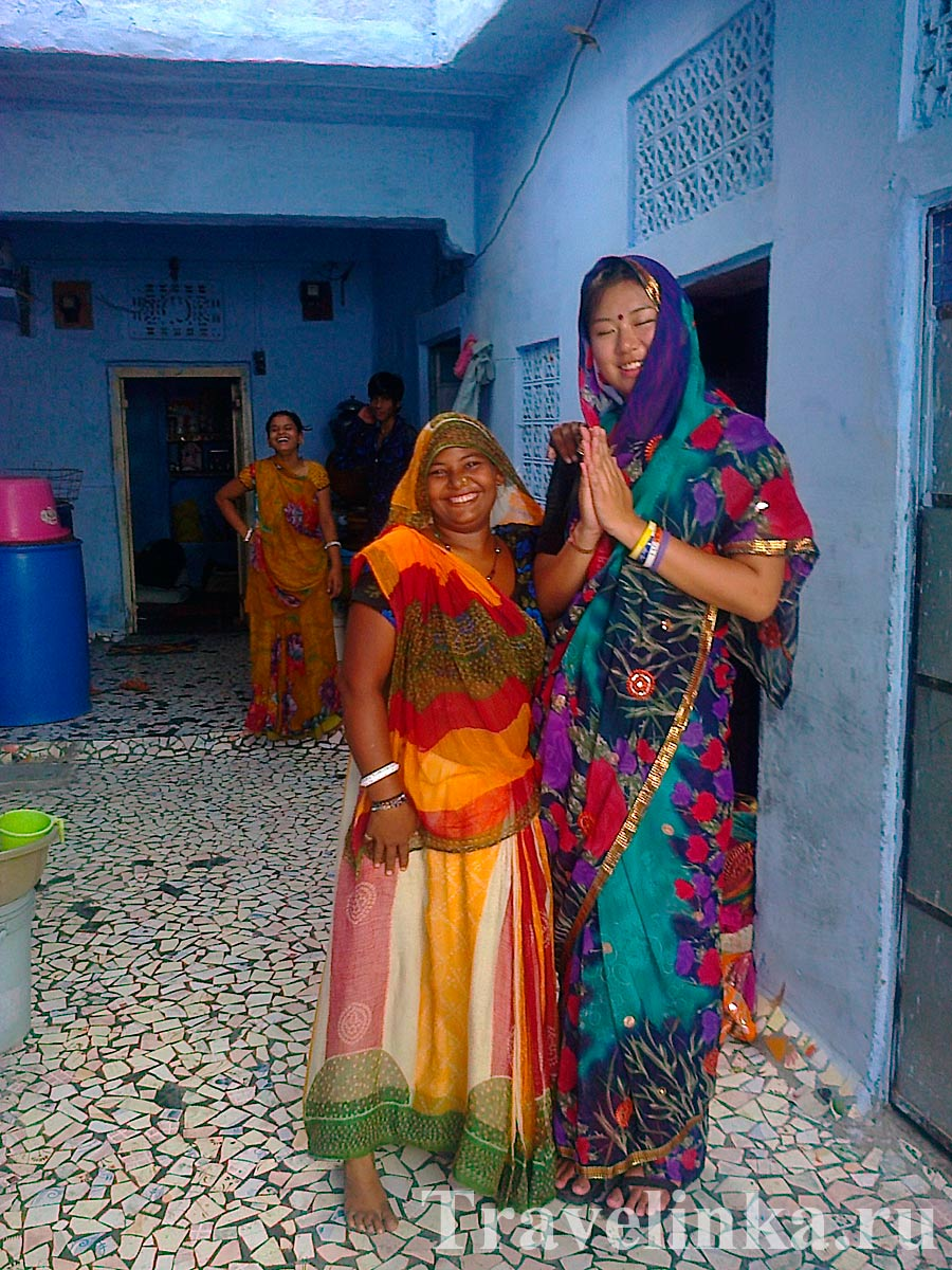 индийские женщины Джодхпур