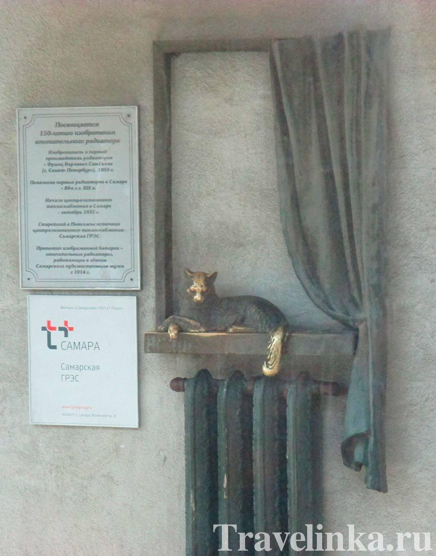 Памятник батареям