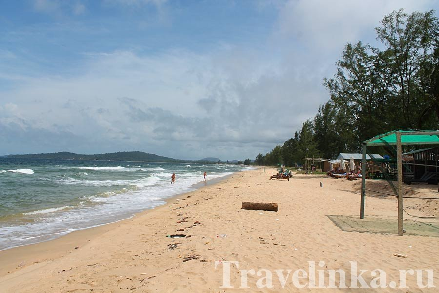 Пляж Онг Ланг северный